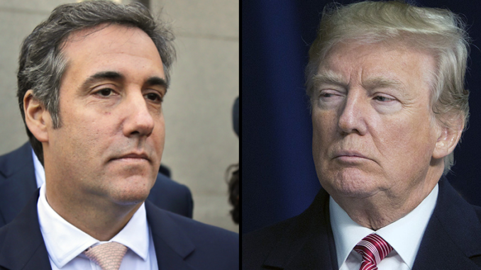 Cohen Plea Deal Increases Risks Confronting President Trump