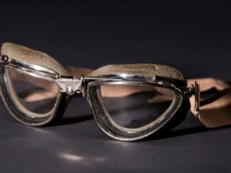 Airmail pilot's goggles.