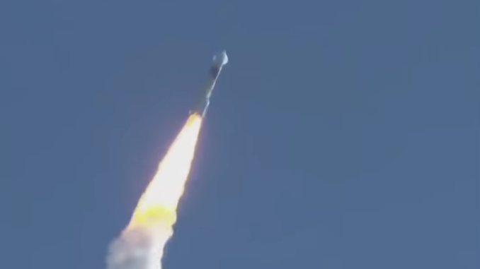 Hope Mars Mission, about 30 seconds after liftoff on July 20, 2020.