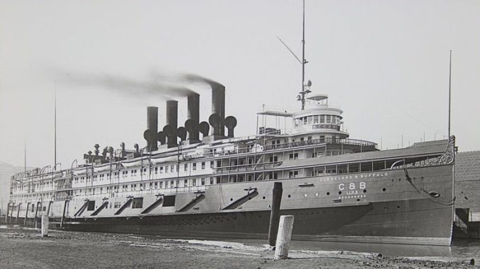 Luxury Great Lakes liner SeeandBee of the Cleveland and Buffalo Steamboat Line