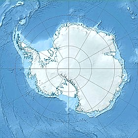 Map of Antarctica.