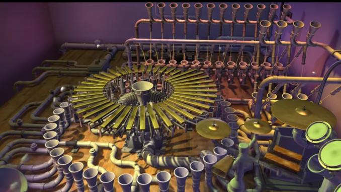 """Animusic """"Pipe Dream""""."""