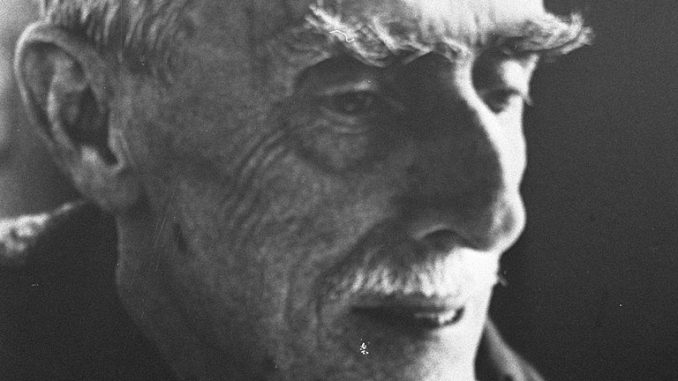 Maurits Cornelis Escher, photographed in 1971.