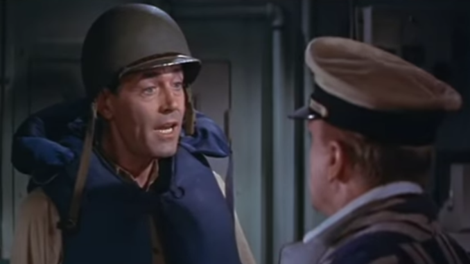"""Scene from """"Mister Roberts"""" (1955)."""