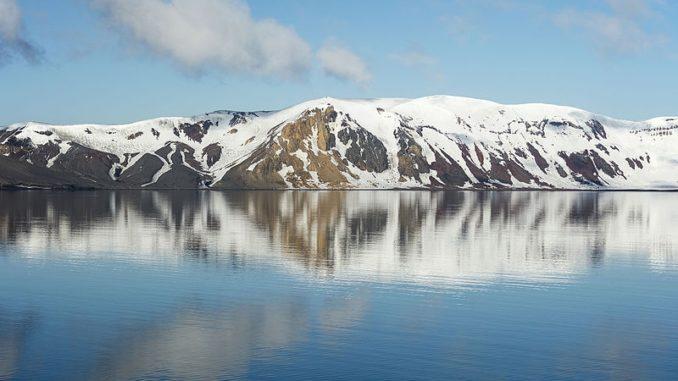 Telefon Bay,Deception Island,South Shetland Islands.