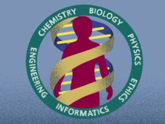Logo of the Human Genome Project.