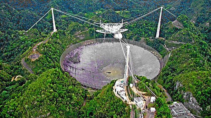 Arecibo Observatory, Puerto Rico.