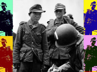 Image reputed to be of Yang Kyoungjong after having been taken prisoner by American forces in Normandy, France, June 1944.