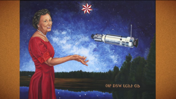painting of Mary Ross