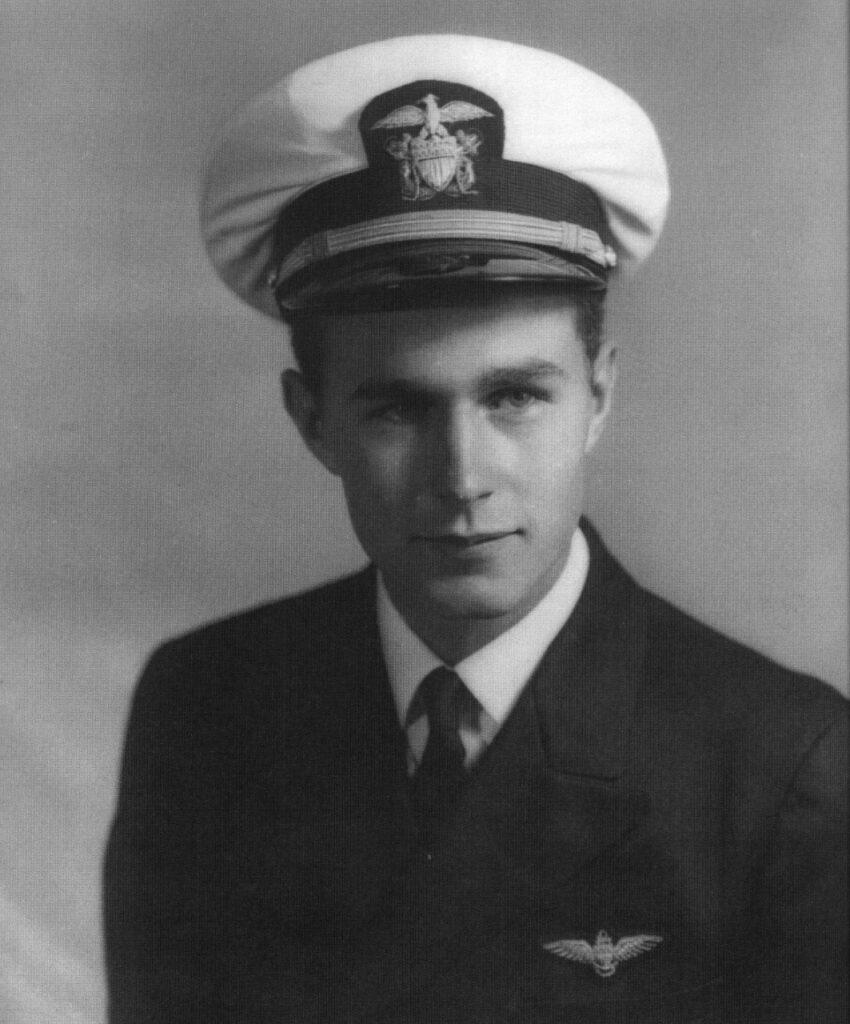 George Herbert Walker Bush, U.S. Navy, August 1942 – September 1945.